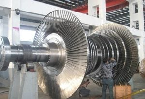 фото работа ООО АСМАРТ - центровка валов турбин