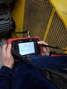 фото как проводится вибродиагностика оборудования АСМАРТ ООО Украина