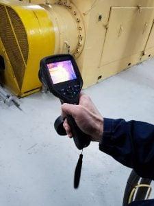 фото диагностика работы оборудования в Украине с помощью тепловизора