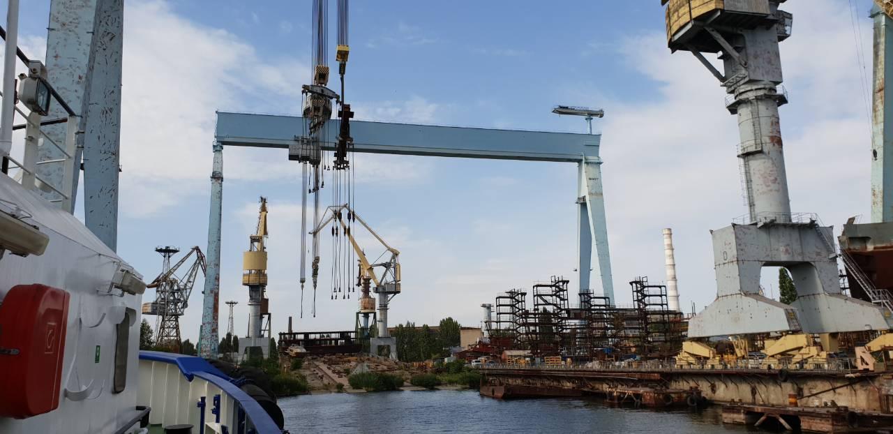 Центровка и диагностика приводов на кораблях